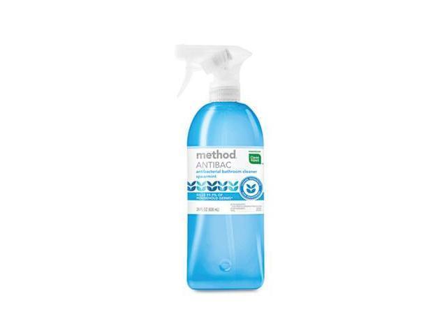 Method 01152 MNT Antibacterial Spray Bathroom 28 oz. - Spearmint - Pack of 8