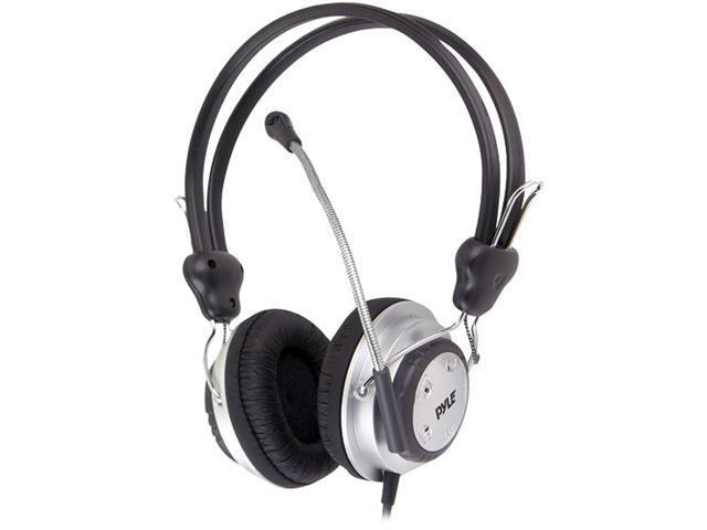 Pyle PHPMC2 Stereo PC Multimedia Headset-Microphone