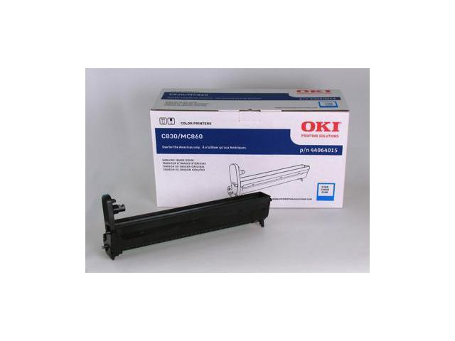 Oki 44064015 C14 Cyan Imaging Drum Kit For C830 Series Printers