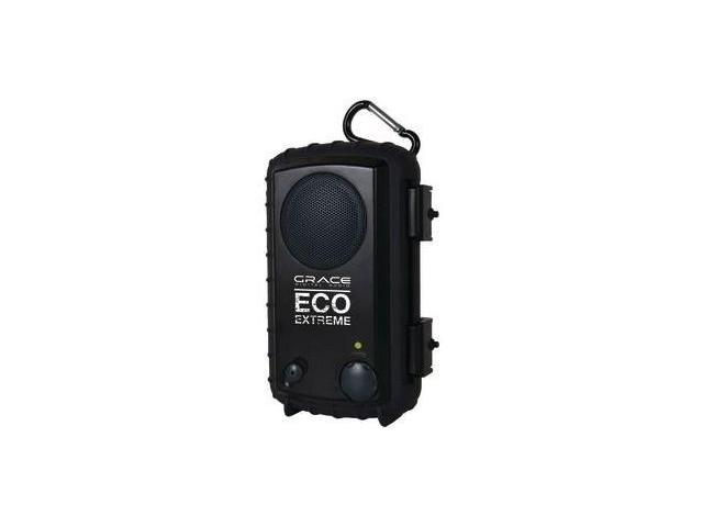 Grace Digital Audio GDI-AQPOD90 Eco Pod Waterproof Earbuds - Orange
