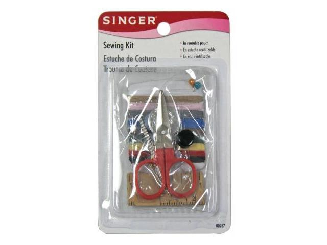 Singer 25 Piece Sewing Kit In Reusable Kit  00267