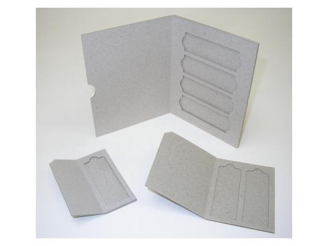 C & A Scientific MSL-02 - Double Cardboard Slide Mailers - 1000 Per Case