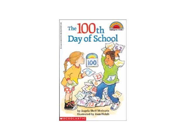 Scholastic '100th Day Worries' by Margery Cuyler - 4 Books and Audio Cassette