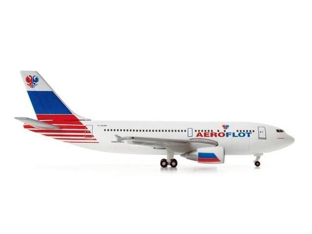 Herpa 500 Scale HE518185 Aeroflot A310 1-500 Test Livery