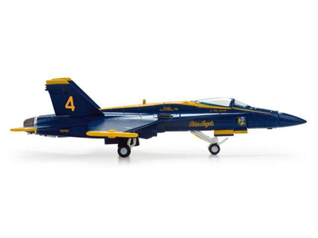 Herpa 1-200 Scale Military HE554312 Usn Blue Angels F-A-18 1-200 Number 4