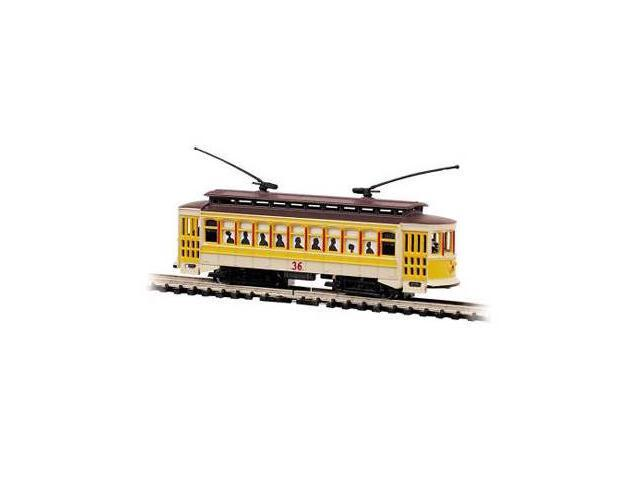 Bachmann Williams BAC61098 N Brill Trolley Yellow