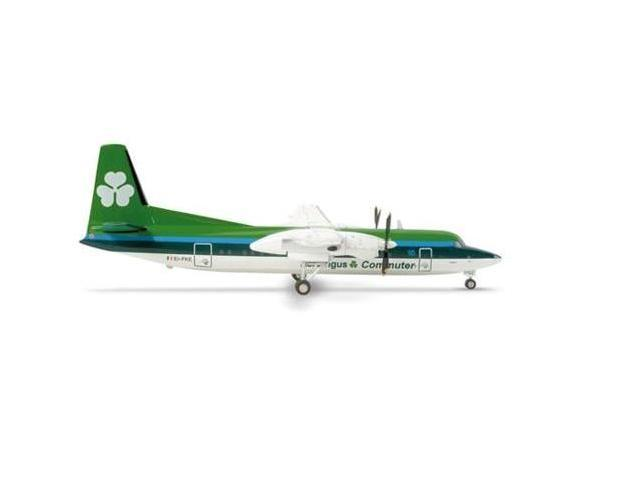 Herpa 200 Scale COMMERCIAL-PRIVATE HE553544 Air Lingus F-50 1-200