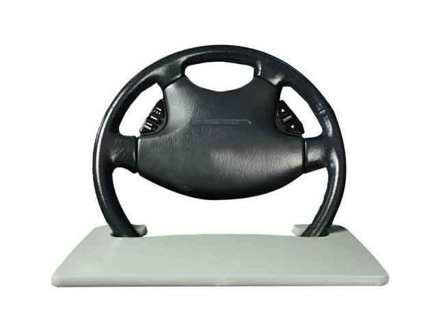 AutoExec Wheelmate Wheelmate Steering Wheel Desk Tray - Gray