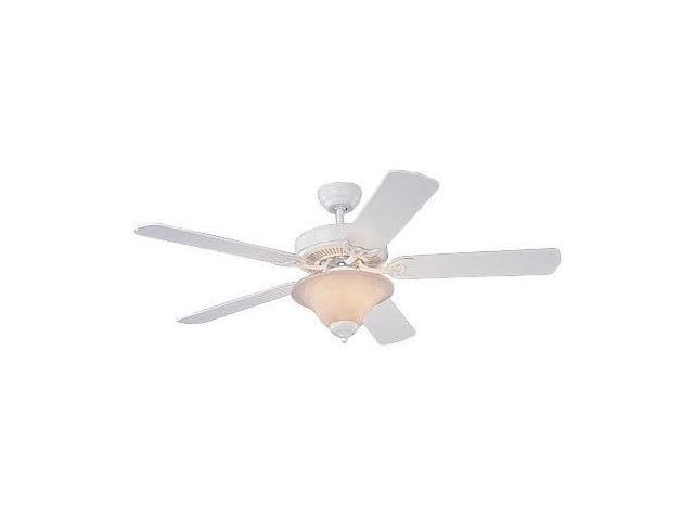 5HS52WHD-L Homeowner's Deluxe 52 in. White Ceiling Fan With White Blades