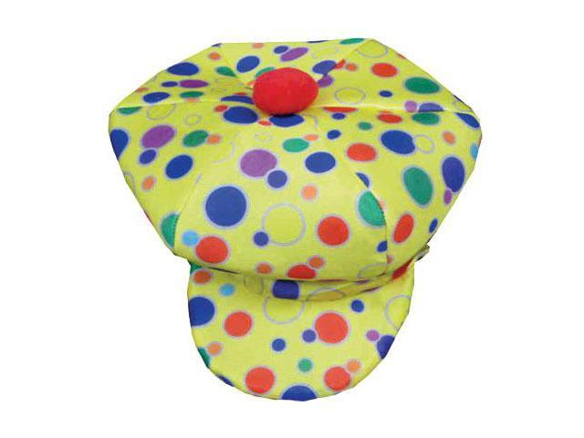 Dress Up America 619 Yellow Clown Cap