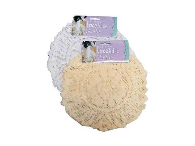 Round lace doily -set of 3 - Pack of 72