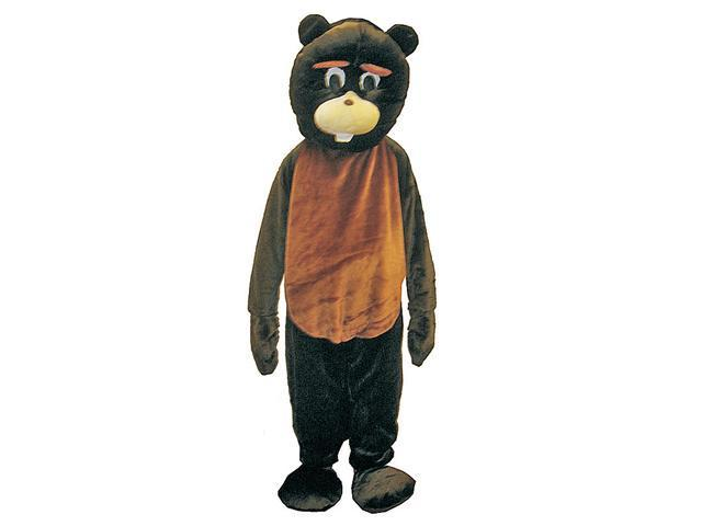 Dress Up America 473-Adult Beaver Mascot Costume Set - Adult