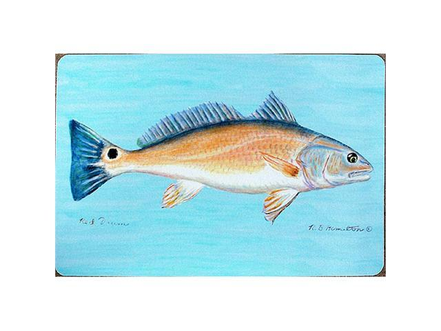 "Betsy Drake DM012 Red Drum Door Mat 18""x26"""