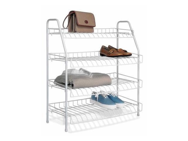 Whitmor Mfg. 4 Tier Closet Shelves  6023-211