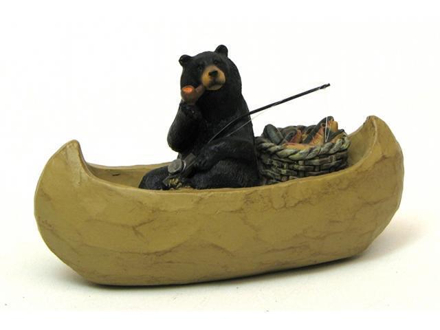 IWGAC 049-10266 Resin Bear Fishing