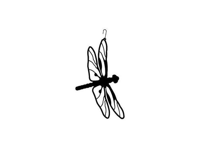 Village Wrought Iron HOS-71 Dragonfly Silhouette Decoration