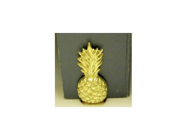 Mayer Mill Brass - NPB-1 - Full Pineapple Book Ends - Pair