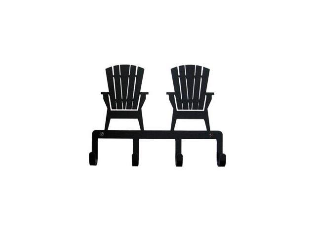 Village Wrought Iron KH-119 Adirondack Chairs Key Holder
