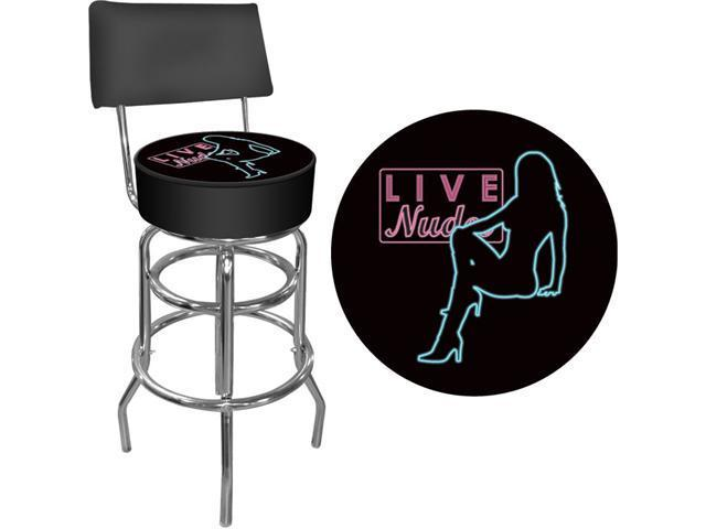 Shadow Babes - D Series - High Grade Padded Bar Stool with Back