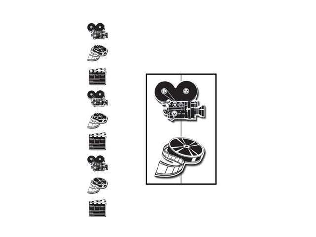 Beistle 50148 - Movie Set Stringer- Pack of 12