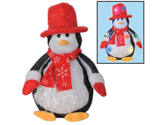 Beistle 20155 14 in. Light-Up Penguin Decoration