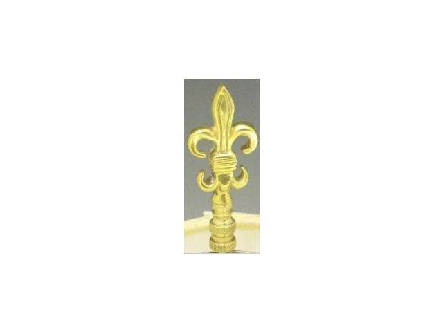 Mayer Mill Brass - FDLFN-1 - Fleur De Lis Lamp Finial