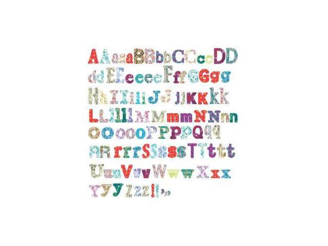 RoomMates RMK1776SCS Boho Alphabet Peel & Stick Wall Decals