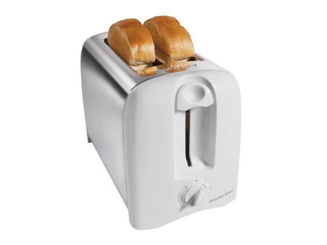 Hamilton Beach 2 Slice White Proctor-Silex Cool Wall Toaster  22609