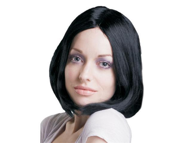 Dress Up America 315 Straight Hair Black Wig