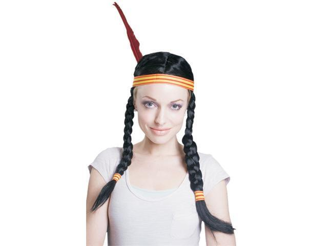 Dress Up America 314 Braided Indian Wig