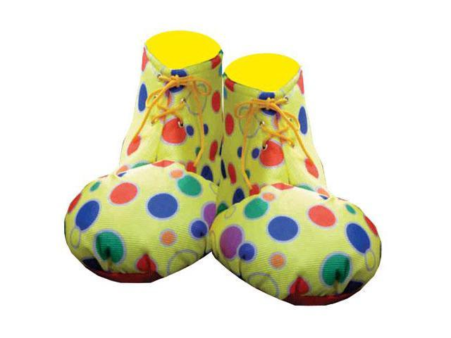 Dress Up America 624 Yellow Clown Shoe Covers