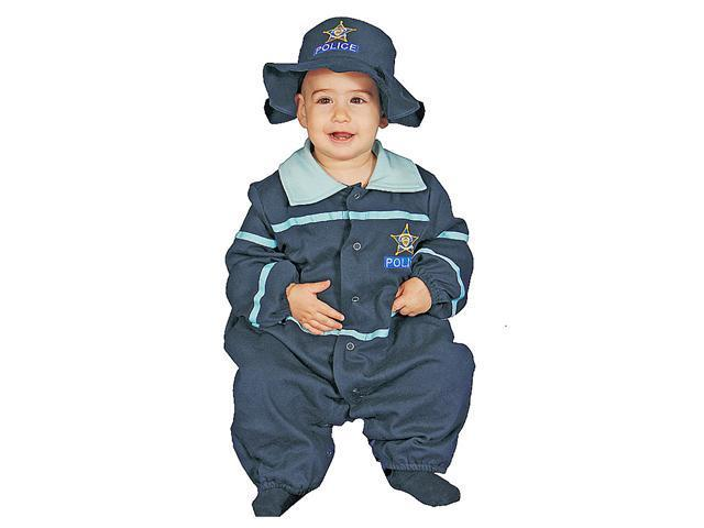Dress Up America 295-9-12 Baby Police Officer Costume Set - 9-12 Months