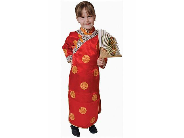 Dress Up America 212-T2 Chinese Girl Dress Up Costume - Toddler T2
