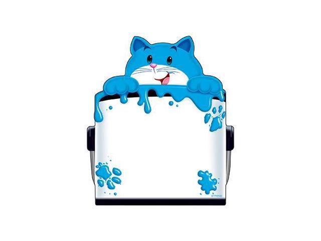 Trend Enterprises Inc. T-72074 Curious Color Cat Note Pad Shaped