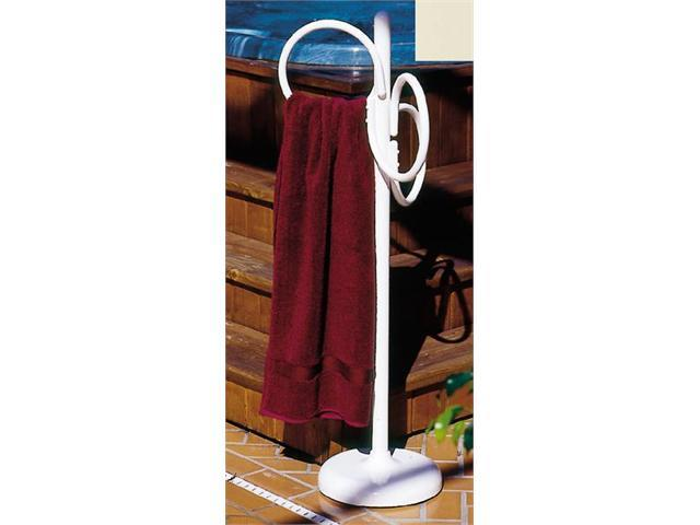 Outdoor Lamp company 402B Loop Designer Towel Holder - Bone