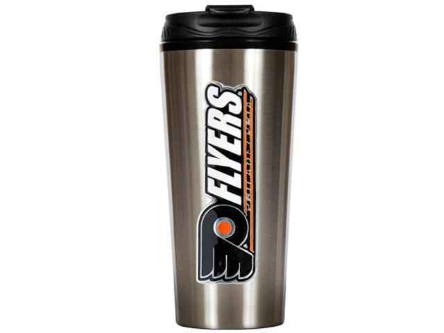 Great American Products Tts011-14 16Oz Stainless Steel Travel Tumbler- Nhl Flyers