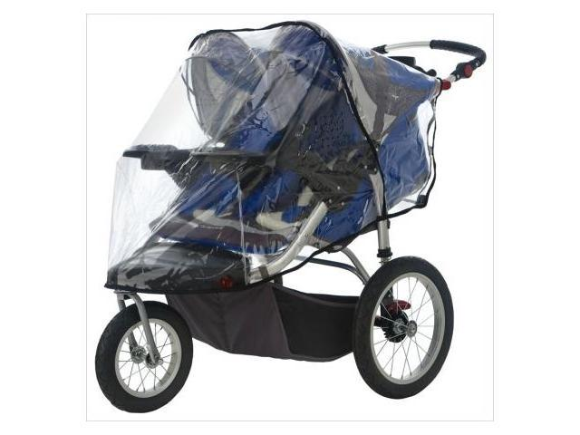 InSTEP 25-SA165 Swivel Wheel Jogger Double Stroller Weather Shield