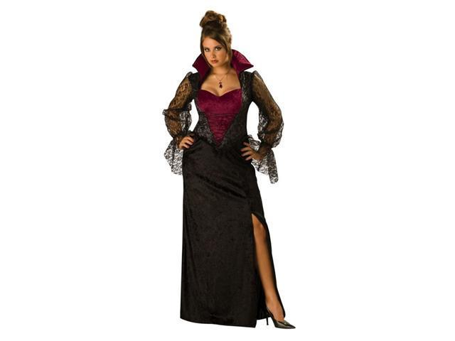 Costumes For All Occasions Ic15001Xxl Midnight Vampiress 2X