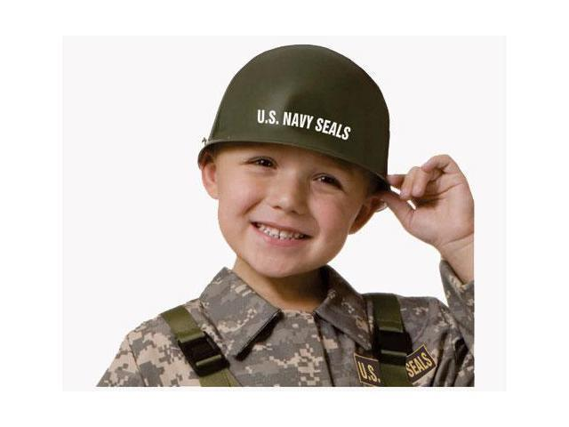 Dress Up America 583 Navy Seal - Army Special Forces Helmet - Size Kids