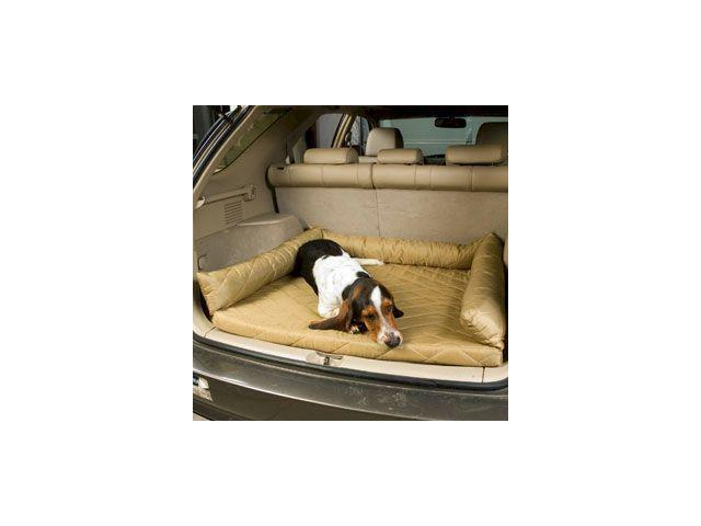 Snoozer SN-51160 SUV Cargo Liner and Bed - Black Quilt