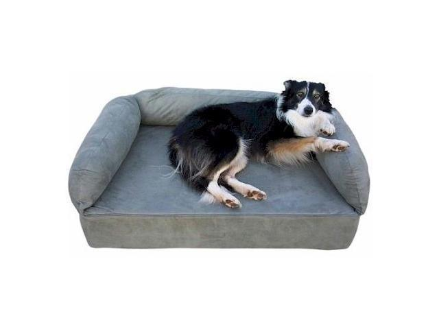 Snoozer SN-69521 Snoozer Luxury Sofa Pet Bed - Extra Large - Memory Foam - Dark Chocolate