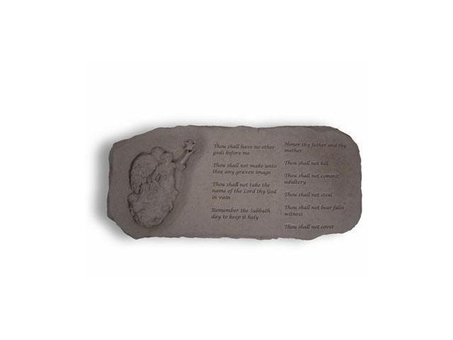 Kay Berry- Inc. 36920 The Ten Commandments - Memorial Bench - 29 Inches x 12 Inches x 15 Inches