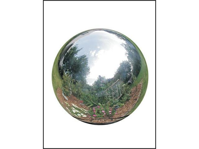Rome Industries 706-S 6 Inch Stainless Steel Gazing Globe - Silver