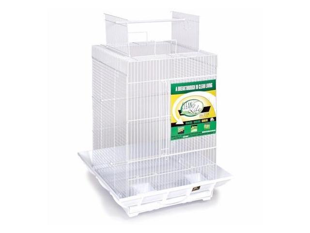 Prevue Hendryx Clean Life Playtop Cage White - SP851W-W