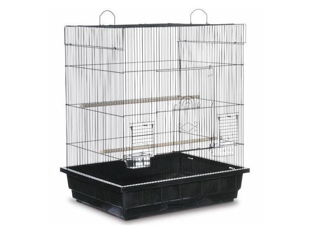 Prevue Hendryx Square Top Parakeet Cage Black - SP25212B-B