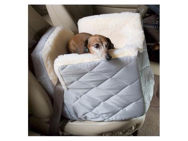 Snoozer SN-80001 Lookout I Dog Car Seat - Small-Black Quilt