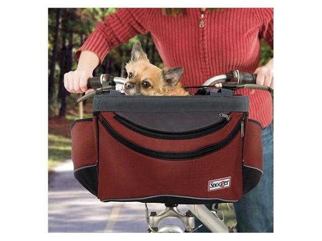 Snoozer SN-85004 Sporty Pet Bike Basket - Red