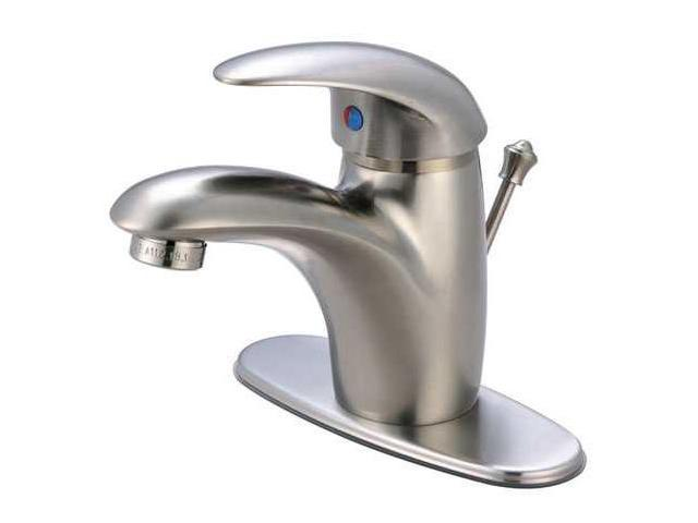 Kingston Brass FS6408WLL Fauceture FS6408WLL Wilton Single Handle 4 in. Centerset Lavatory Faucet, Satin Nickel