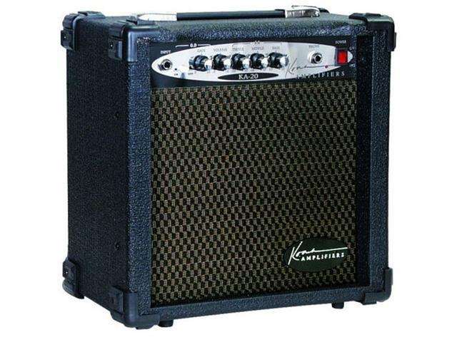 Kona KA20 20 Watt 2-Channel Guitar Amplifier with Overdrive