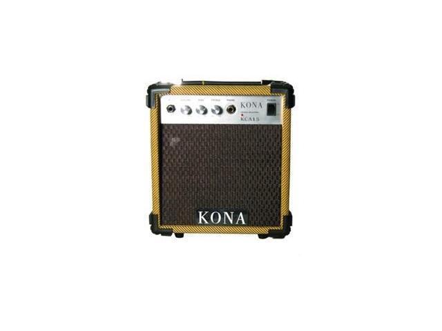 Kona KCA15TW 10 Watt Amplifier 5 in. Speaker 1 Input - Tweed